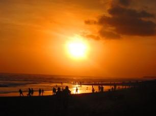 Couldn't miss a sunset pic / No podía faltar una del sunset.