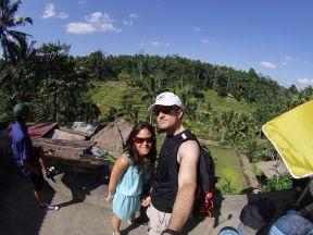 """Rice terraces in Tegallalang, north of Ubud (rumour has it that this name inspired """"La La Land"""") / Terrazas de arroz en Tegallalang, al norte de Ubud (comentan que su nombre inspiró a los creadores de """"La La Land"""")."""