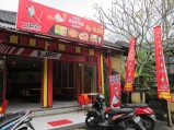 Grand opening. Great new concept / Inauguración de una nueva y original cadena de fast food.