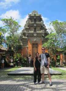 Ubud Palace / Palacio de Ubud.