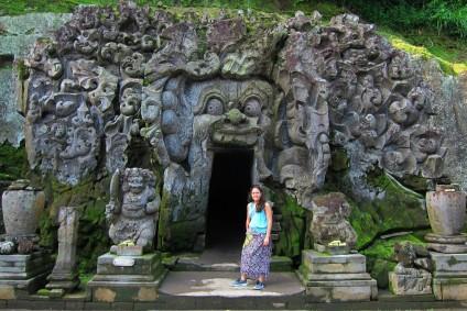 Goah Gaja Temple / Templo de Goah Gaja.