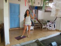 Our room in Gili T (the one of the DEET episide). // Nuestro cuarto en Gili T. Aquel del incidente con el repelente.