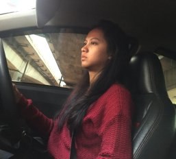 First female Uber driver we see! // Primera chofer de Uber mujer que vemos!.