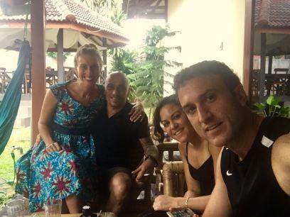 Our awesome hosts in Jogja. // Nuestros excelentes anfitriones en Jogja.
