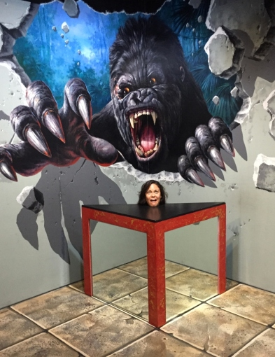 "3D Art Museum. // Museo de ""arte 3D""."
