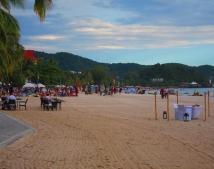 Langkawi beach. // La playa de Langkawi.