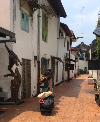 Melaka streets. // Calles de Melaka.