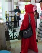Visiting a mosque. // Visitando una mezquita.