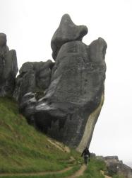 Huge -phallic- rocks. // Versión neozelandesa de Sacsayhuaman.