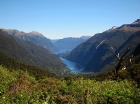 Doubtful sound. // El fiordo de Doubtful.