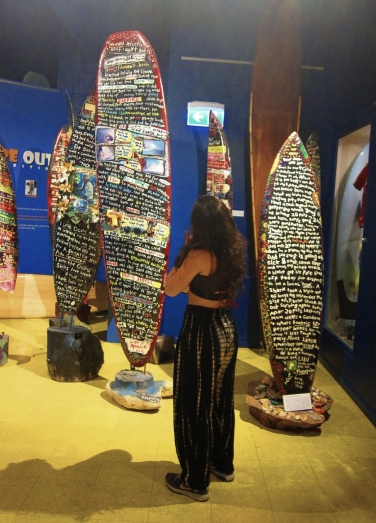 Surf museum. // Museo del surf.