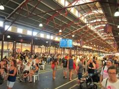 Huge Queen Victoria market. // El enorme Mercado de la Reina Victoria.