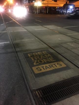Free public transport, awesome. // Transporte público gratis en el centro.