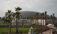 The Louvre, Abu Dhabi branch. // La nueva sucursal del Louvre.