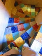 ... and stair colors. // ... y en las escaleras.