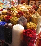 Bazaar colous. // Colores en el mercado.