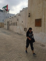 Heritage zone in Sharjah. // En el emirato de Sharjah.