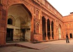 Agra's fort. // El fuerte de Agra.