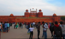 The Red Fort. // El Fuerte Rojo.
