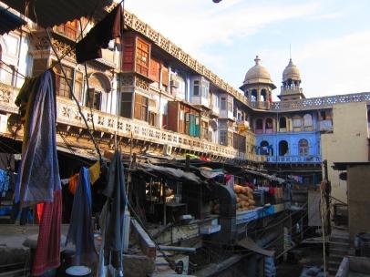 Spice market in Old Delhi. // Mercado de condimentos en Vieja Delhi.