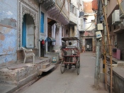 More streets in old Delhi. // Más callecitas en Vieja Delhi.
