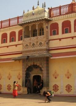 Royal Palace in Jaipur. // Palacio Real en Jaipur.