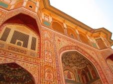 Impressive Amber Fort, near Jaipur. // El impresionante Fuerte Amber, cerca a Jaipur.