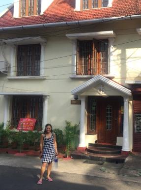 Our first home in India, Leelu's homestay. // Nuestra primera casa en la India, la pensión de Leelu.