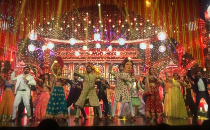 Bollywood musical. // Musical al estilo Bollywood.
