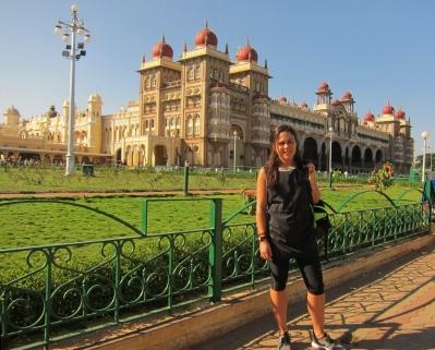Palace of Mysore, impressive. // Impresionante palacio de Mysore.