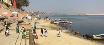 Just another day in Varanasi. // Un día más en Varanasi.