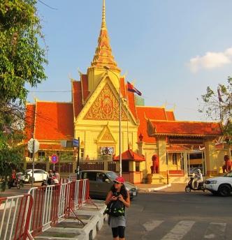 Khmer architecture. // Típica arquitectura Khmer.