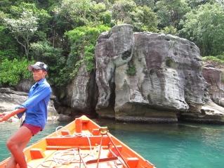 The elephant rock! // La roca elefante.