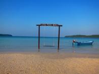 Yup, this is the swing where all the action took place. // El columpio mas fotografiado de la isla.