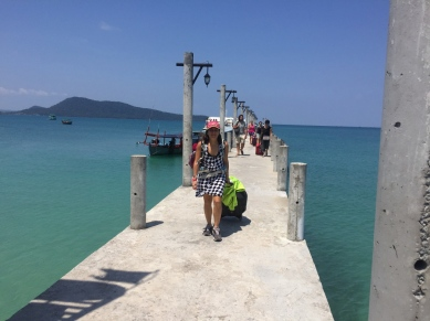 And we made it to Koh Rong Samloen. // Y llegamos a Koh Rong Samloen.