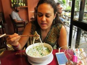 Pho. Ultimate Vietnamese dish. // El Pho, plato vietnamita por excelencia.