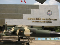 War Remnants Museum. // Museo de los remanentes de la guerra.
