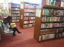 Manga library in Hiroshima. // La librería de Manga en Hiroshima