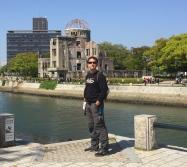 Hiroshima dome. // El domo de Hiroshima.