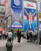 Famous billboard in Osaka. // Anuncio dizque famoso en Osaka.